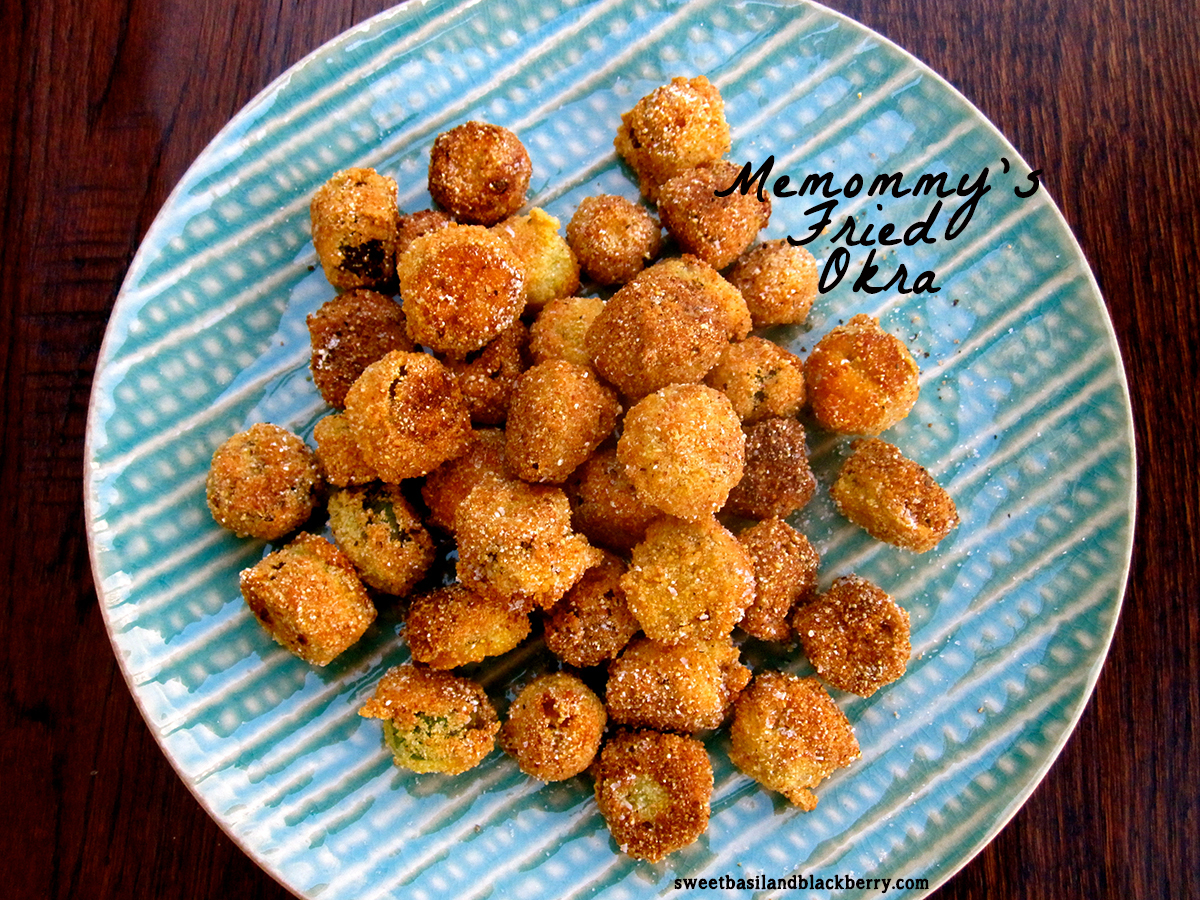 Memommy's Fried Okra