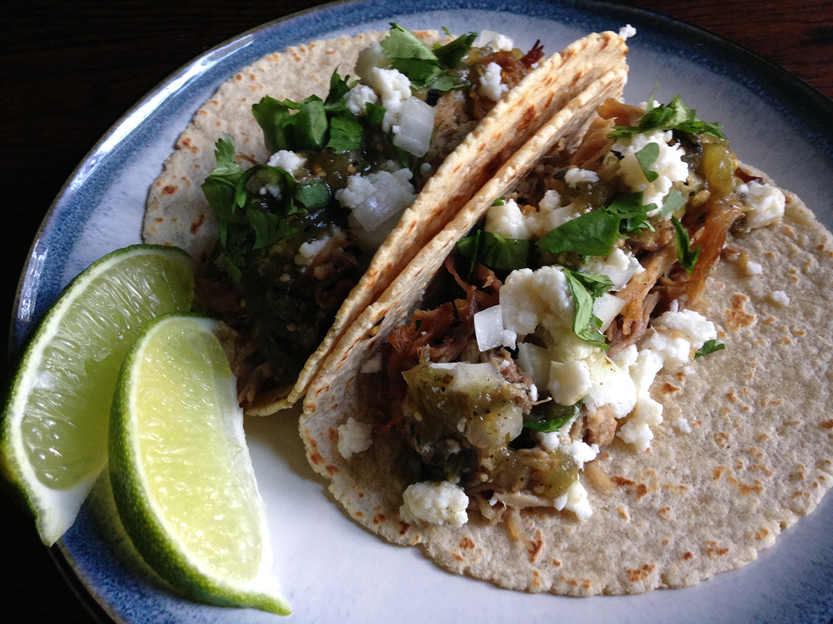 Cola Braised Pork Carnitas