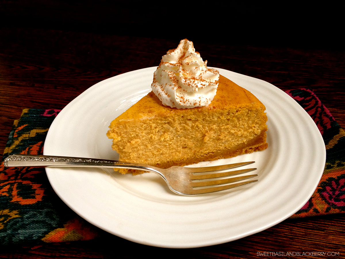 pumpkin cheesecake #2