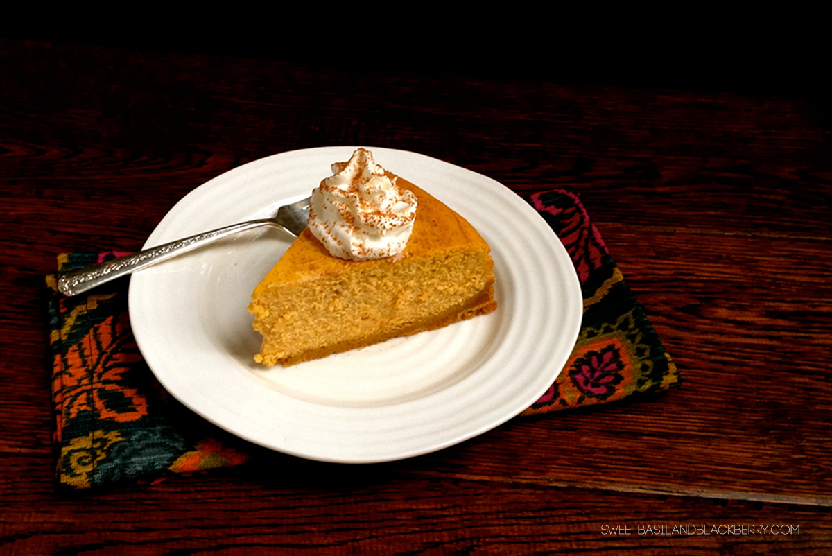 pumpkin cheesecake #3