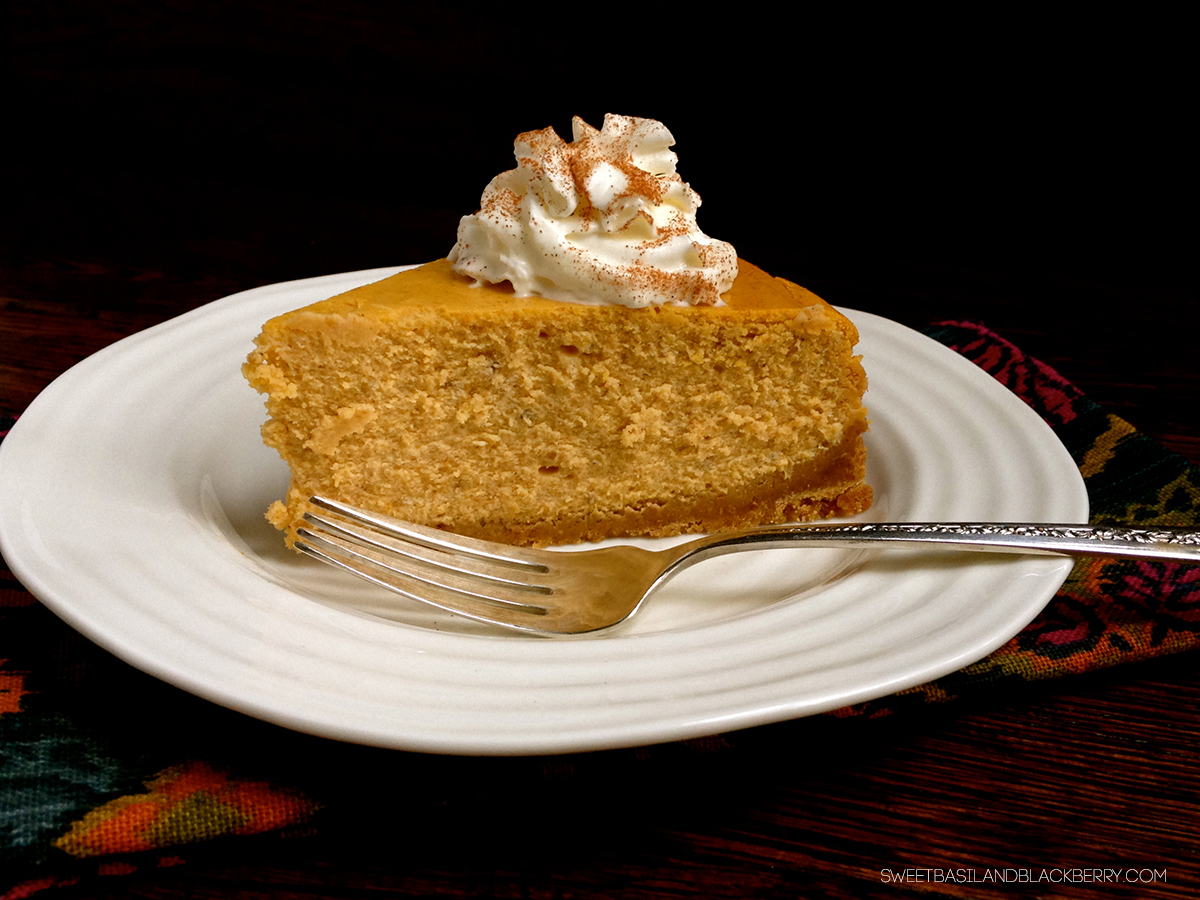 pumpkin cheesecake #4
