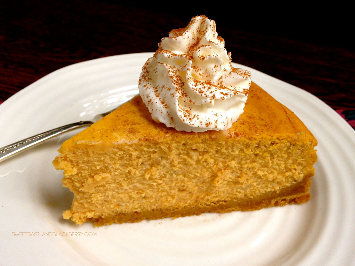 pumpkin cheesecake #5