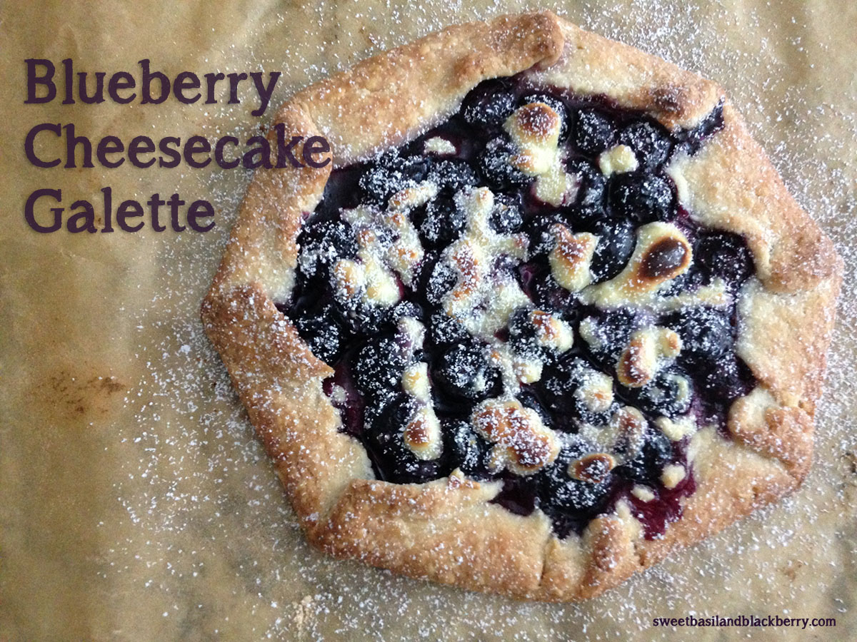 Blueberry Cheesecake Galette #5