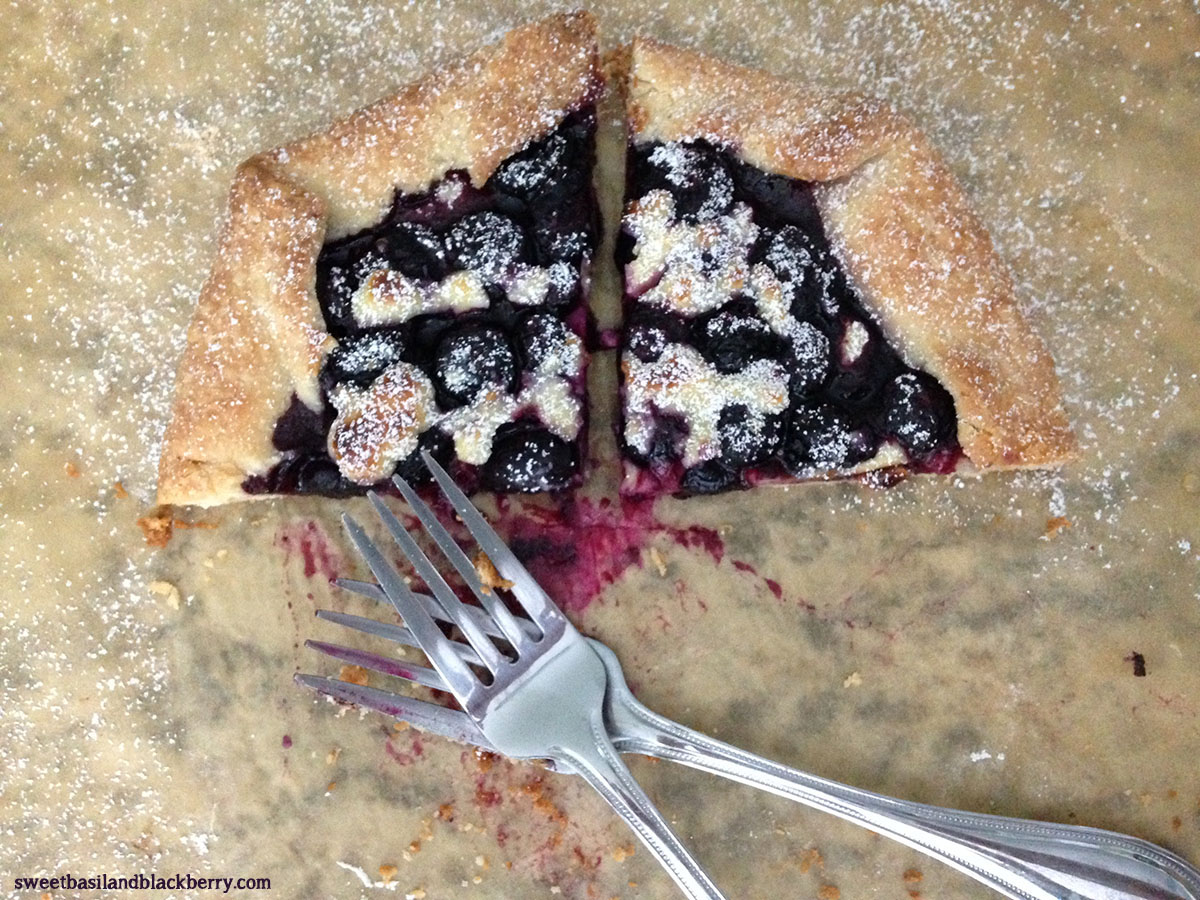 Blueberry Cheesecake Galette#1