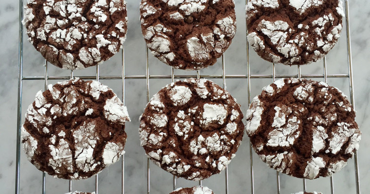 Cake Mix Chocolate Crinkles